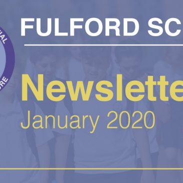 Fulford School Newsletter January 2020