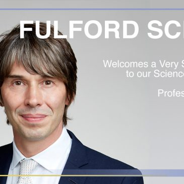 Fulford School Welcomes Professor Brian Cox