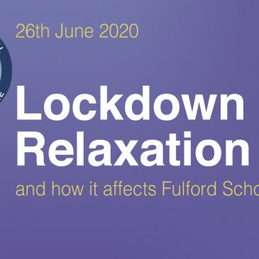 Lockdown Relaxation and How it Affects Fulford School