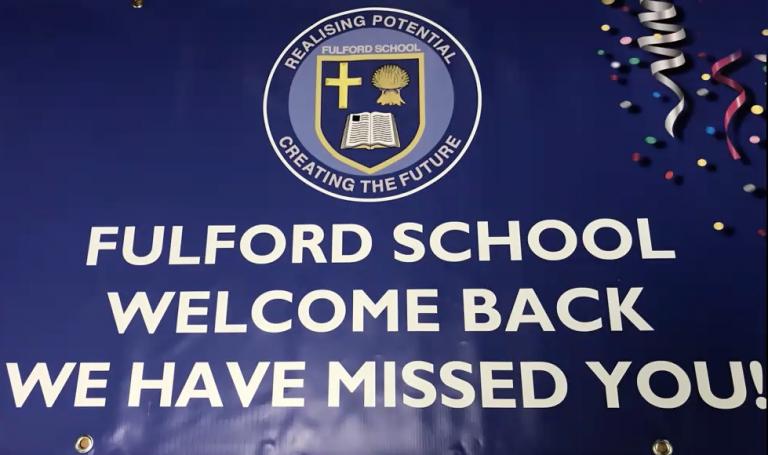 Welcome Back to Fulford School