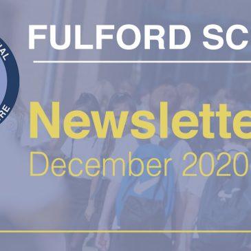 Fulford School Newsletter December 2020