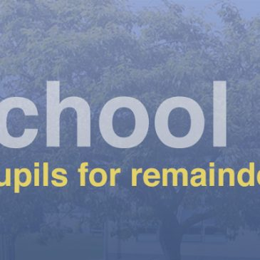 School Closed for Remainder of School Year