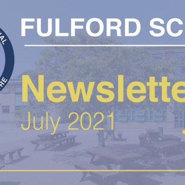Fulford School Newsletter July 2021