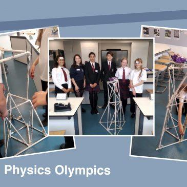 Physics Olympics at Fulford School